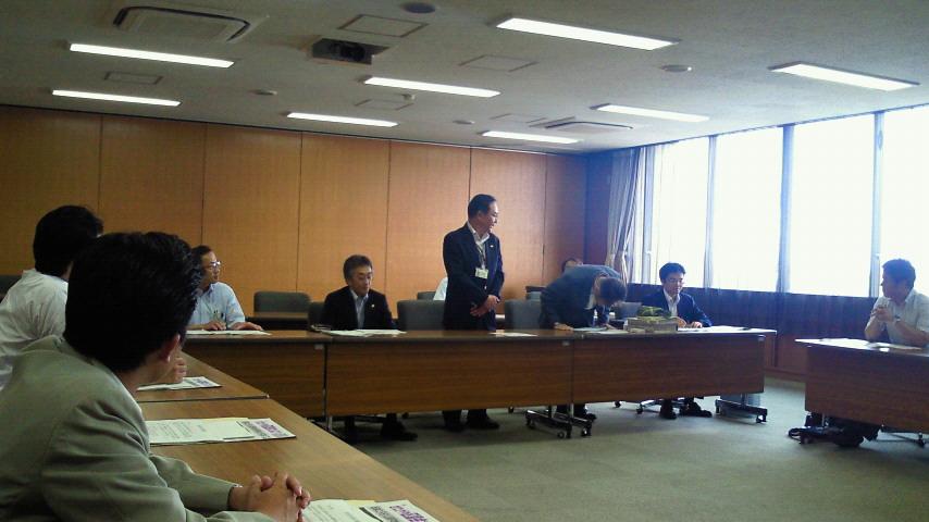 世田谷区役所にて勉強会