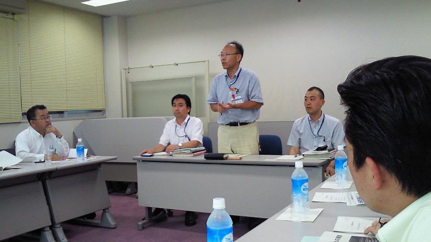 横浜市役所で勉強会