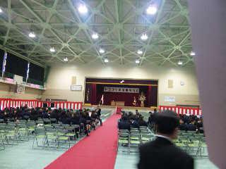 大阪府立泉鳥取高等学校卒業証書授与式