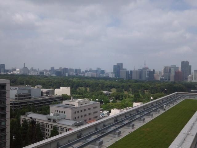 衆議院会館屋上風景