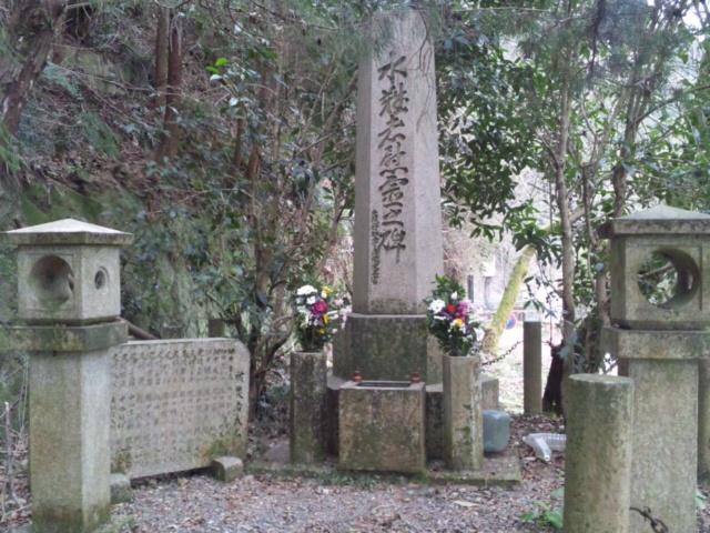鳥取ダム決壊被害者の慰霊碑