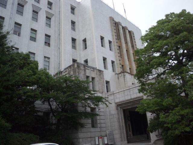 やっと帰還しました大阪府庁に
