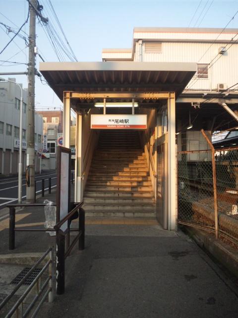 4月朝立尾崎駅