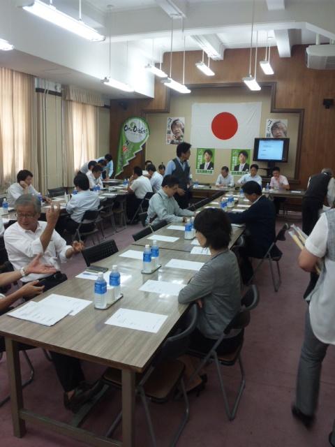 8月15日大阪都構想・臨時議会 13:40