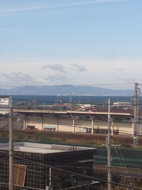 大阪・海の見える駅