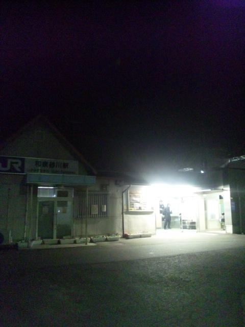 1月5日 本日の朝立は、JR<br />  阪和線「和泉砂川駅」