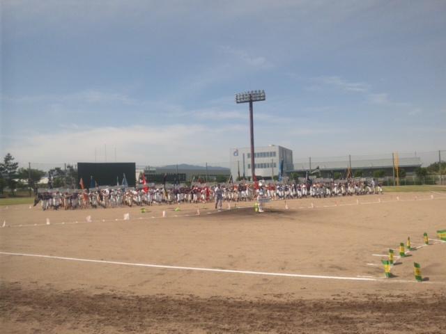 少年野球in<br />  泉南サザンスタジアム