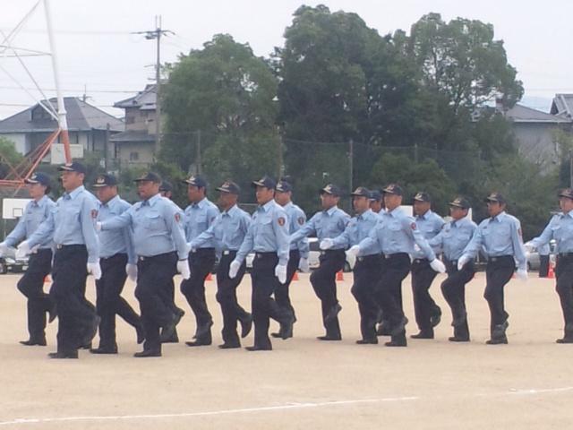 平成27年度泉南地区支部消防総合訓練及び支部長表彰