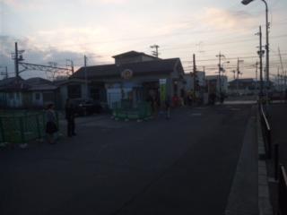 南海本線・吉見の里駅前(田尻町)