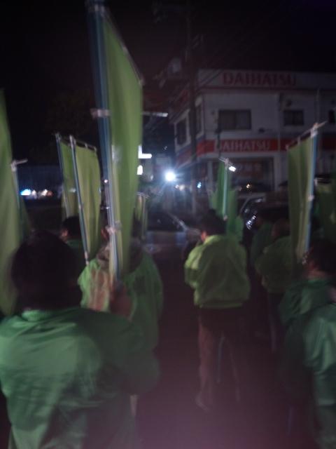 熊取町長選挙・明日、投開票!