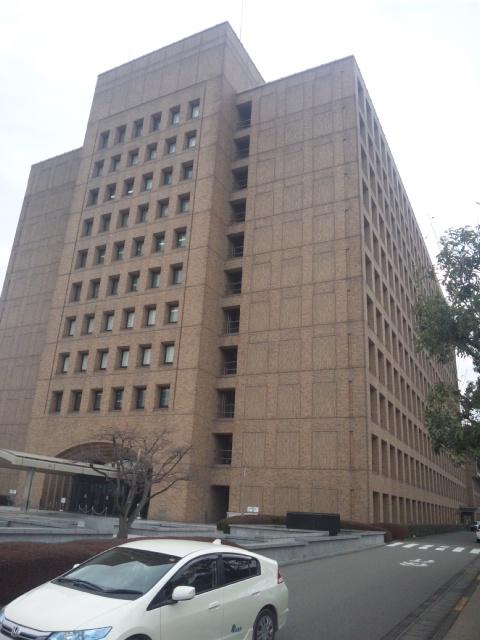 徳島県庁と神山町役場