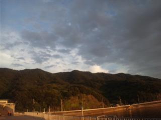 大阪夏の陣本日の夕暮れは