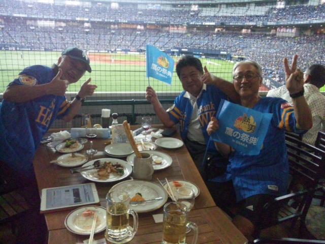 本日夜は、京セラドームです!