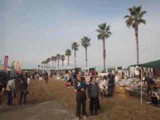 サザンビーチにて、泉南市商工まつりです!
