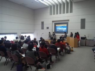田尻町の関西国際センター発表会