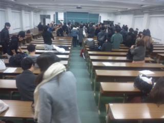 大阪府立大学・今年最終の授業