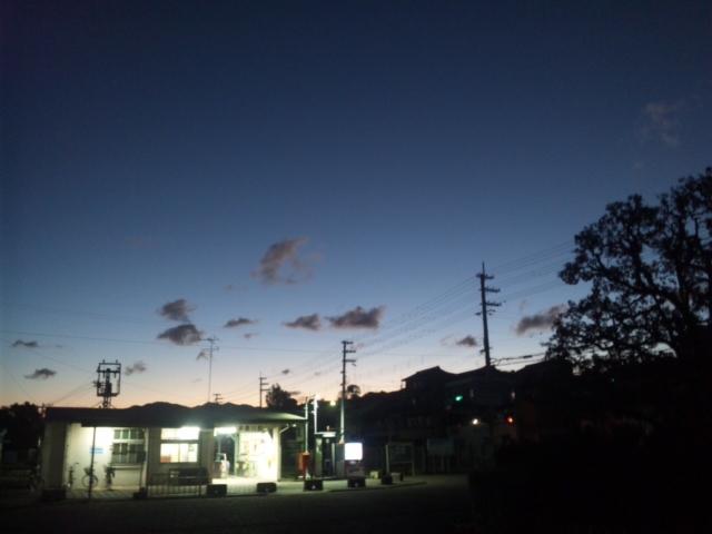 大阪府内最西端の多奈川駅から