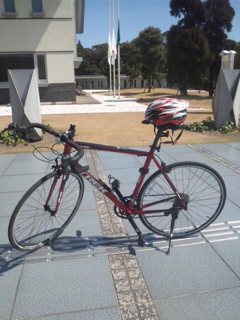 レンタル自転車で、初めてのロードバイク