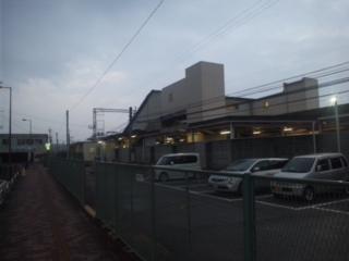 本日の朝立は、大阪府泉南市にある「樽井駅」です