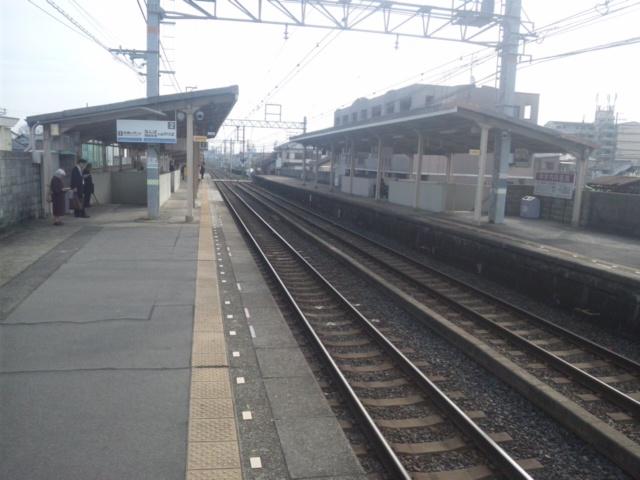 本日は、岡田浦駅から、府庁へ向かいます。監査です。