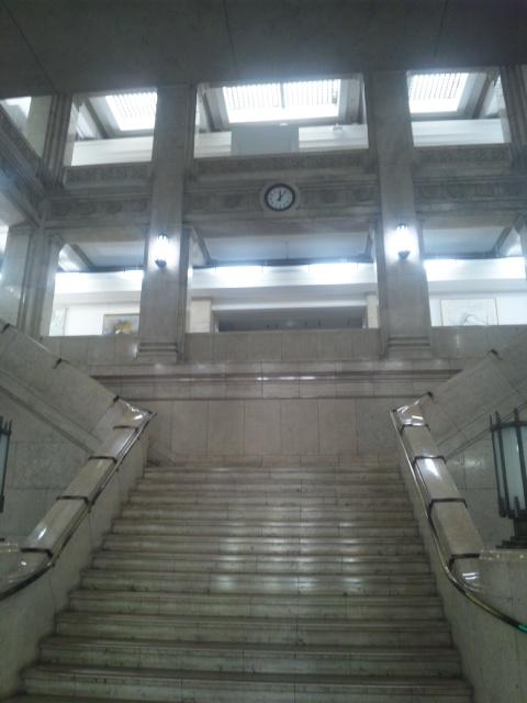 5月始まり 大阪府庁です