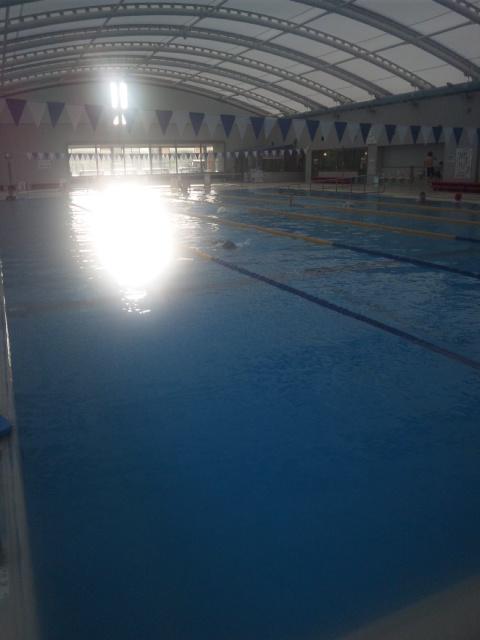 本日も、人生初!プールでクロール3km! ゴールデンウィーク終わり、明日から再スタート!