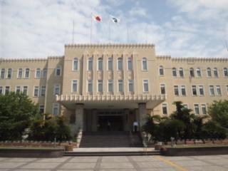 和歌山県庁へ