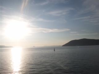 本日は、香川県 香川県庁は、始めてです!高松港から小豆島に向かっています!