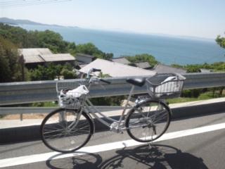 ママチャリで、小豆島一周完走 1<br />  14.24kmでした 大阪城の石切丁場の保存・資料館が充実