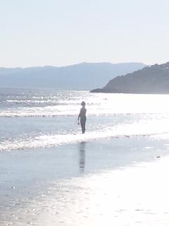 これだけ街が輝き、空が輝き、風景が輝いたら、サーファーの聖地、磯ノ浦でしょう!