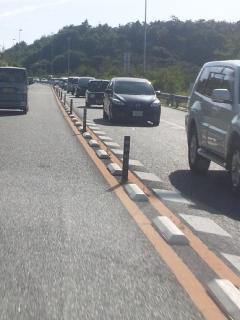 和歌山と繋がった第二阪和国道、渋滞 夕刻ののぼり 備忘録