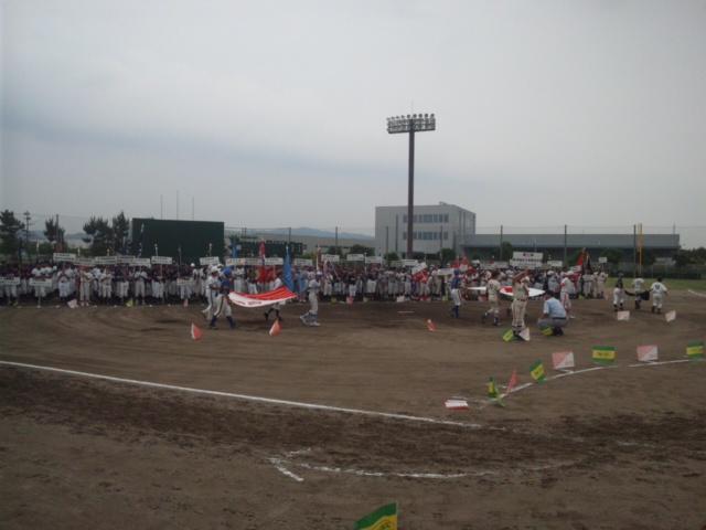第41回読売旗争奪戦泉州地区少年野球大会・開会式