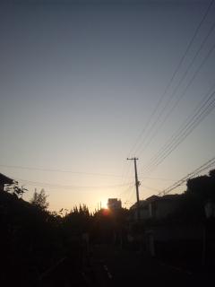 本日も快晴、これだけ降らないと、ちょっと心配 本日の朝立は、阪南市の鳥取ノ荘駅