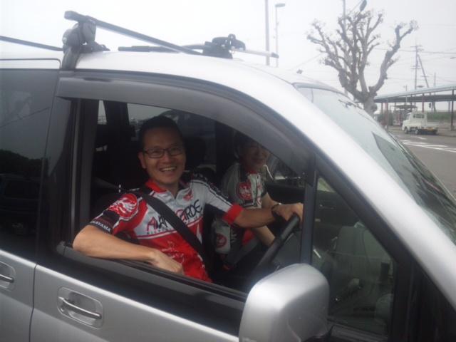 さっそく、自転車乗りの方が淡路島へ 深日港ー洲本港社会実験運行