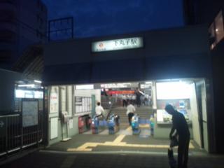 夜立 東京都議選にて