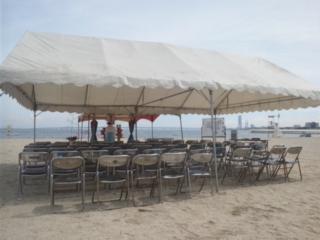 りんくう南浜海水浴場「海開き」