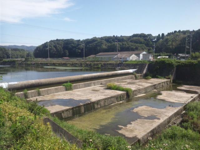 兎田井堰の更新について