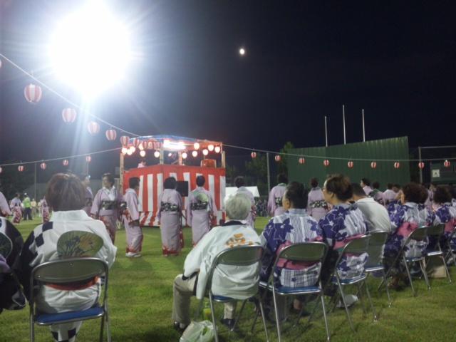 今年から、初のせんなん夏祭りは、泉南市・樽井サザンビーチ前のサザンスタジアムにて