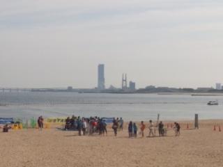本日のオープン・ウォーター・スイミング・レースは、欠場です!泉南・樽井サザンビーチにて