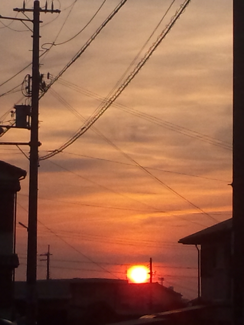 夕暮れは、堺にて