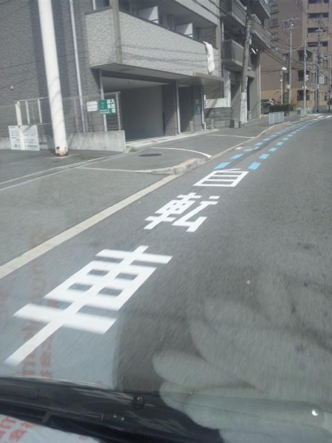シマノのある堺は、自転車道もある