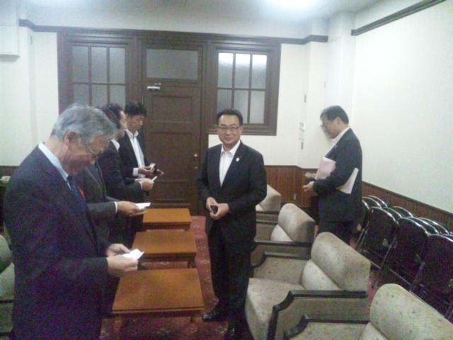 南海の件、阪南市長、副市長など、大阪府要望