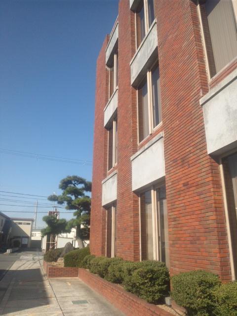 田尻町役場にて