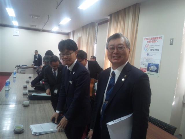 【意見交換会】泉南市 大阪府政に係る諸課題について