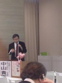ピンクリボン大阪10<br />  周年記念講演 大阪国際がんセンター1階ホールにて