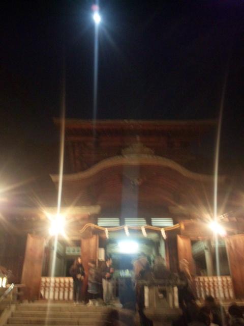 【謹賀新年】月がきれいな夜空