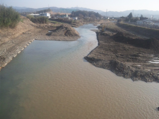 【調査日】どの河川も御意見等頂戴していますが、本日は、番川、茶屋川、男里川