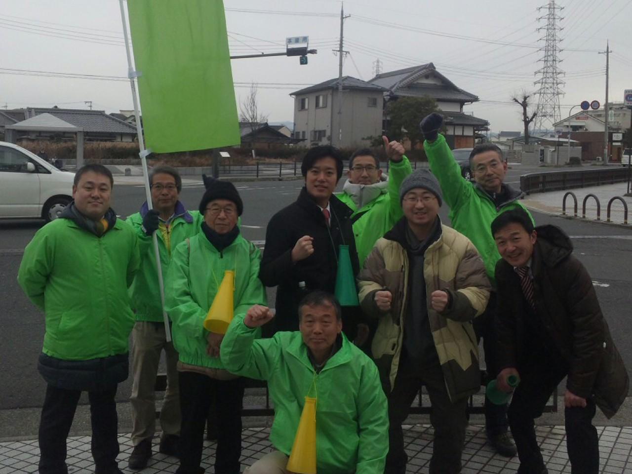 【岸和田市長選挙】桃太郎やってま〜す!