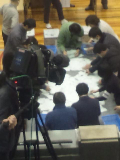 【岸和田市長選挙】選管委員長の「選挙会を開会します!」