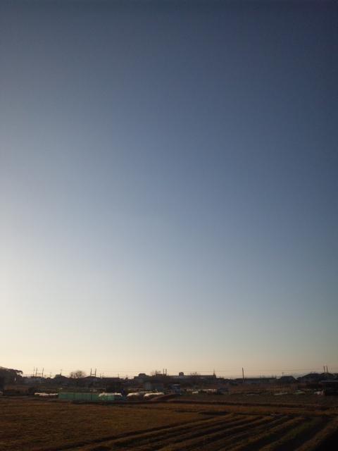 空が、広〜い